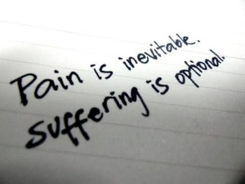 Words of Wisdom: Pain and Suffering